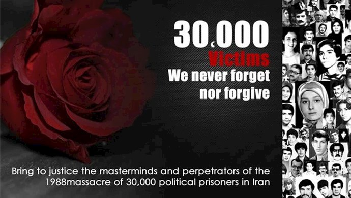In the summer of 1988, Iranian regime supreme leader Ruhollah Khomeini ordered the execution of more than 30,000 political prisoners, mostly members and supporters of the People's Mojahedin Organization of Iran (PMOI/MEK)