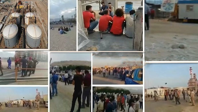 Protests by oil sector workers in Iran
