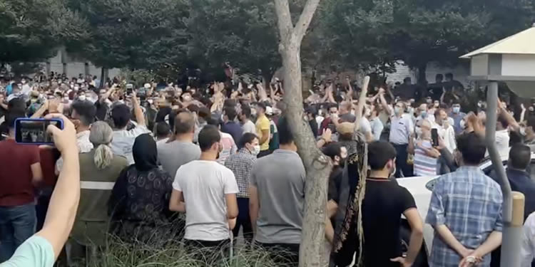 Iranian Turks support water protests in SW Iran