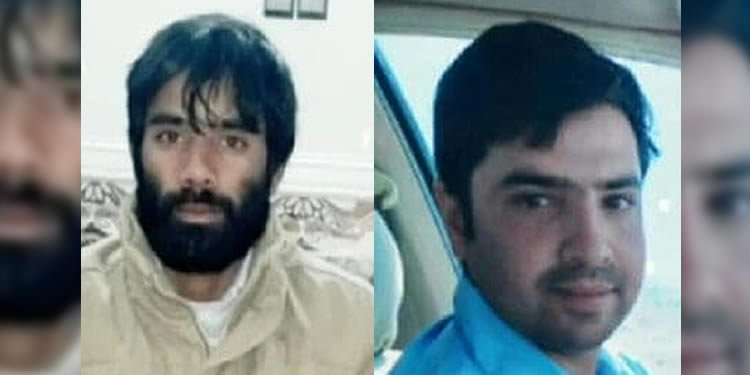 Two Baluch men killed by police in E Iran