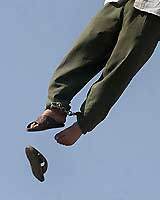 A man hanged in Iran