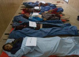 Dodelijke slachtoffers in Camp Liberty