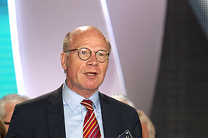 Kimmo Sasi, MP from Finland, speaking at the annual Iran Freedom rally in Villepinte on June 13, 2015