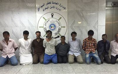 Kuwait arrests 10 Iranians; accuses them of breaching border