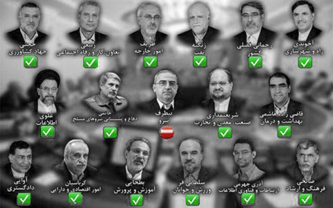 Rouhani's New Cabinet Includes 16 IRGC Members, MOIS Interrogators ...