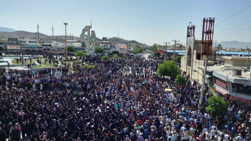 Kazeroun protests
