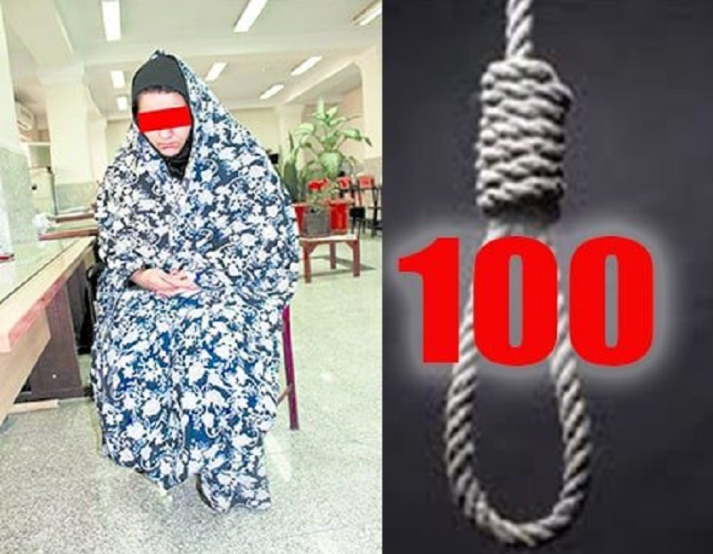 Iran's Regime Executes 100th Woman During Rouhani's Term in Office